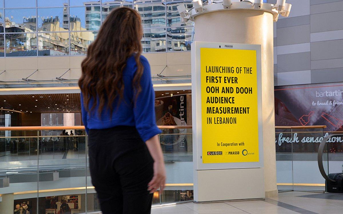 Auch an der Levante können nun kontextualisierte DooH-Kampagnen gefahren werden (Foto: Pikasso)