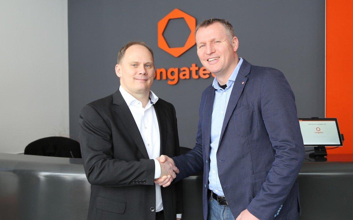 Congatec und Fortec besiegeln die neue Salespartnerschaft (Foto: Congatec)