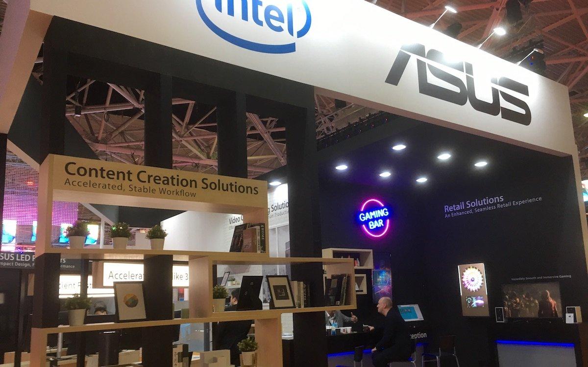 Content Creation, ein wenig IoT und Konferenzraumlösungen – aber aus DS ist Asus ausgestiegen (Foto: invidis)