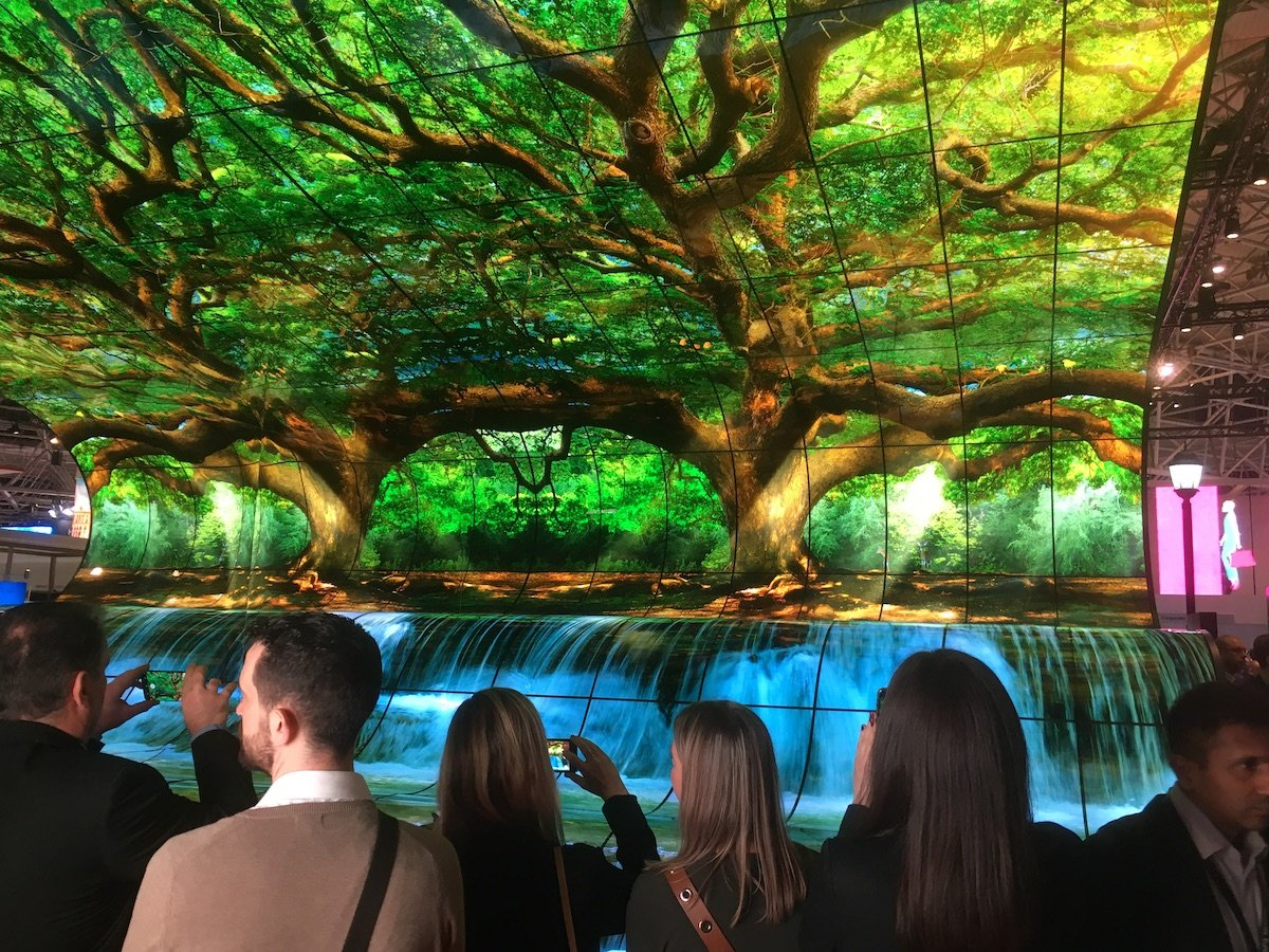 Die Installation zog über die gesamte Messe hinweg Besucher an (Foto: invidis)