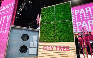 Die Telekom setzt auf den City Tree (Foto: Telekom)