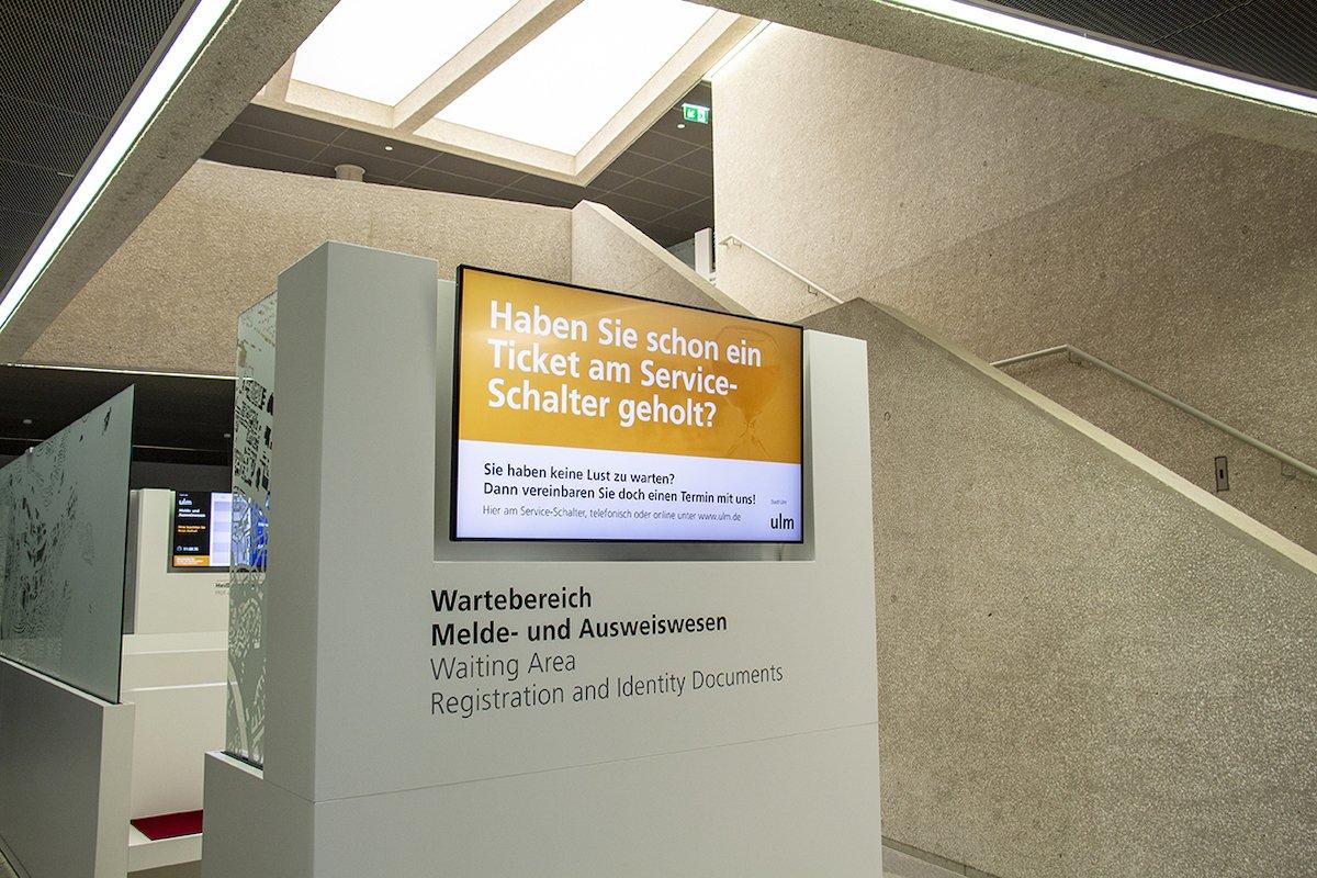 Insgesamt 10 verschiedene Screens wurden verbaut (Foto: Wedeko)