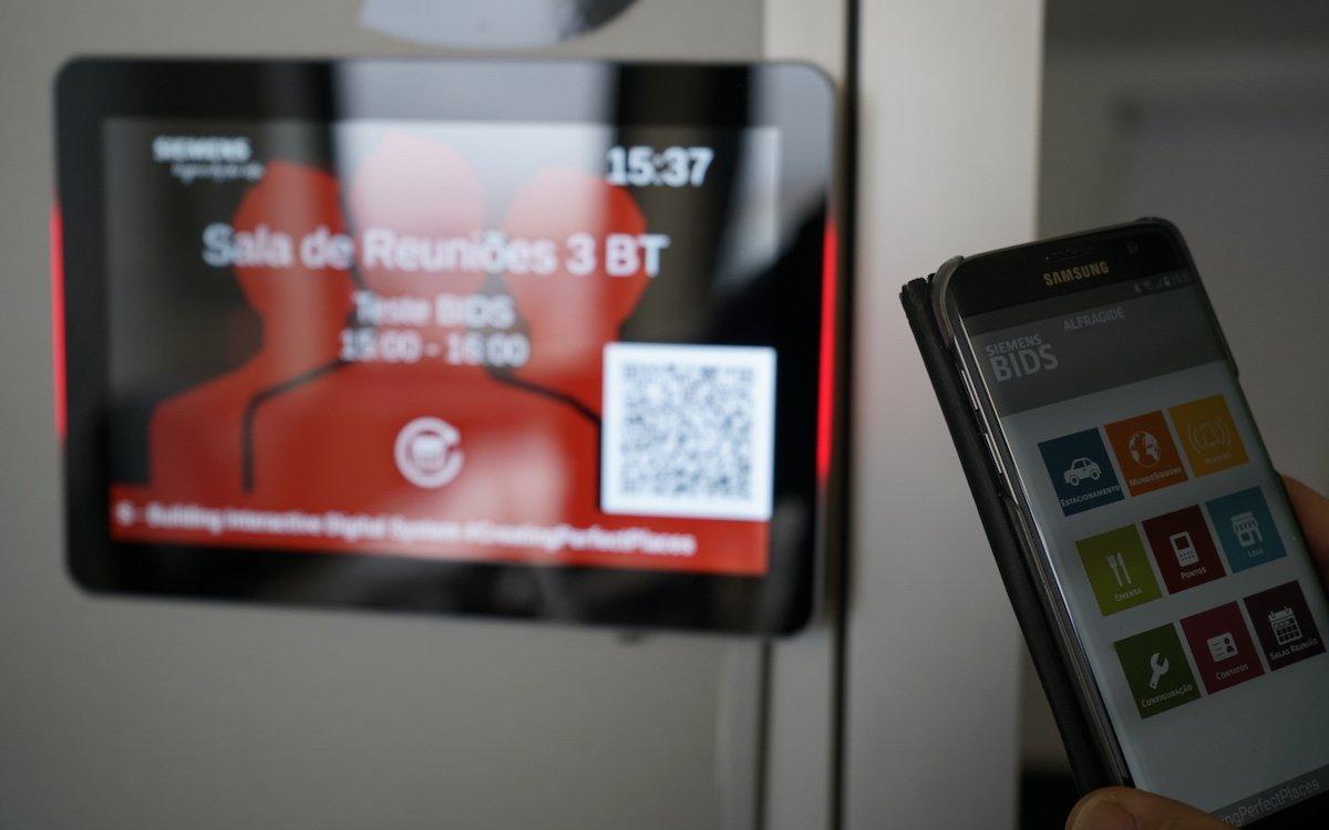 Intelligente Raumbuchung ist eine der zahlreichen Anwendungen die Siemens Portugal nun nutzt (Foto: Sony)