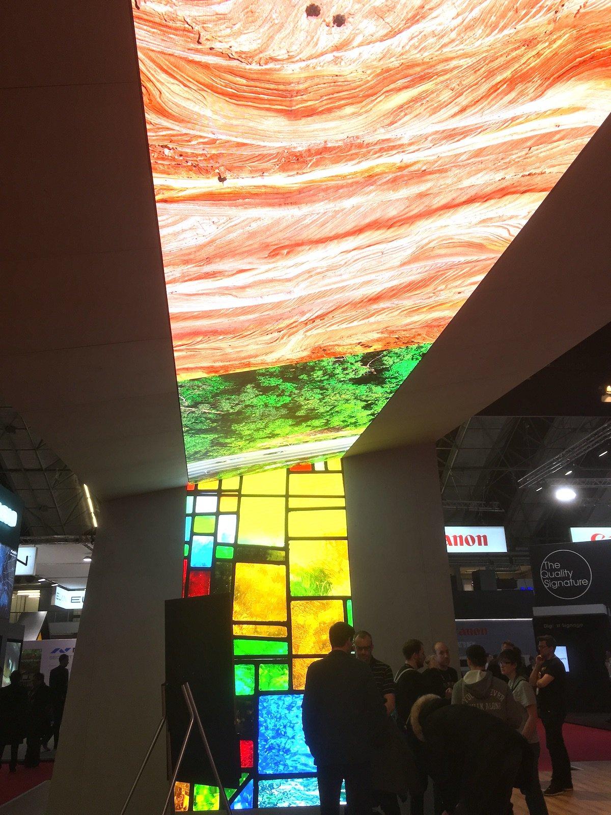 LED-Module von Samsung wurden bei dieser Installation bei der Lang AG genutzt (Foto: invidis)