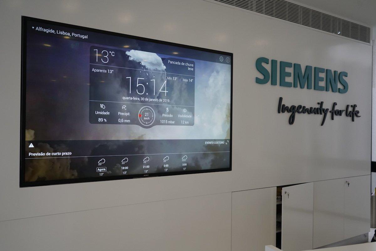 Mit der neuen Lösung hat Siemens in Portugal das Büro der Zukunft umgesetzt (Foto: Sony)