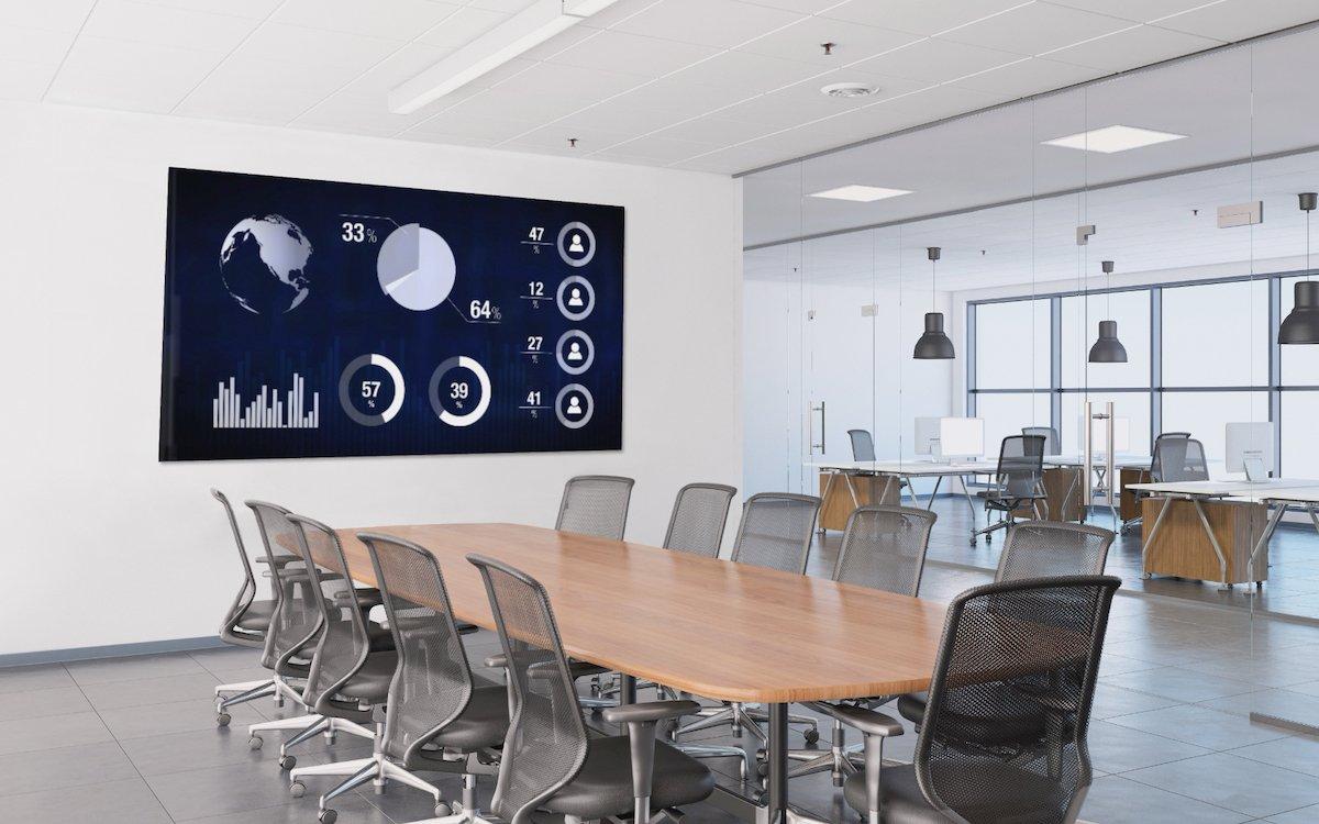 Mit der Serie EZ-HD besetzt auch SiliconCore den Markt für LED-Standardlösungen für Corporate Boardrooms (Foto: SiliconCore)