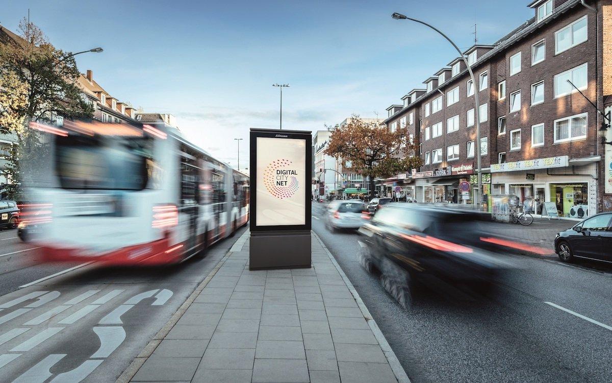Neuer DCLP-Screen in Hamburg (Foto: WallDecaux)