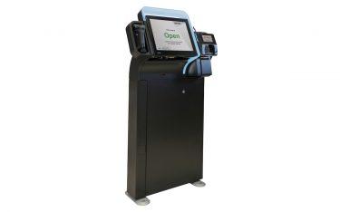 Self-Checkout-Kiosk von Toshiba (Foto: Toshiba)