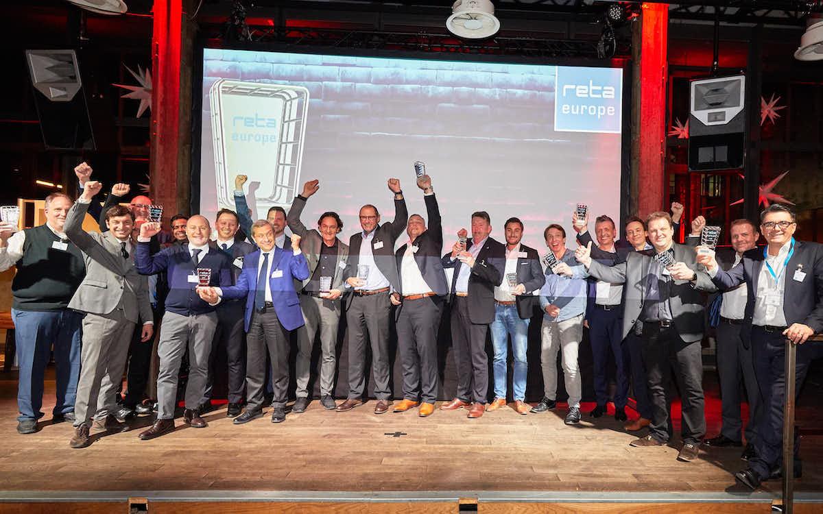 So sehen Sieger aus: Gewinner der reta Awards 2019 (Foto: EHI Retail Institute)