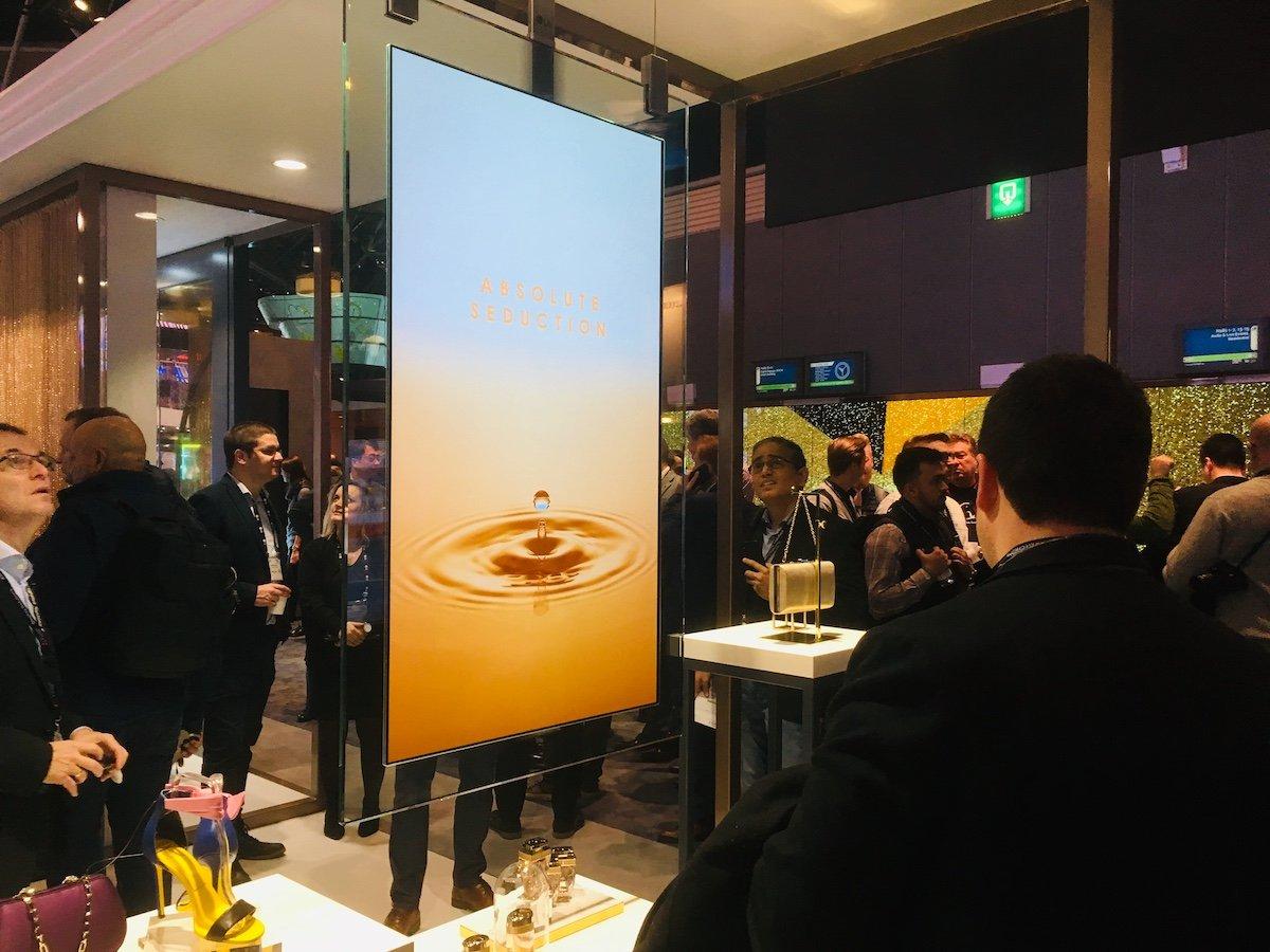 Transparent OLED ist eines der Trendthemen bei LG (Foto: invidis)
