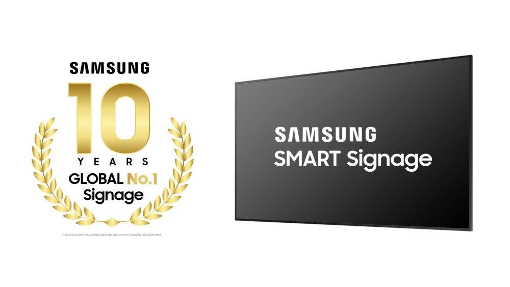 Samsung Electronics 10 Years Global No1 (Foto: Samsung)