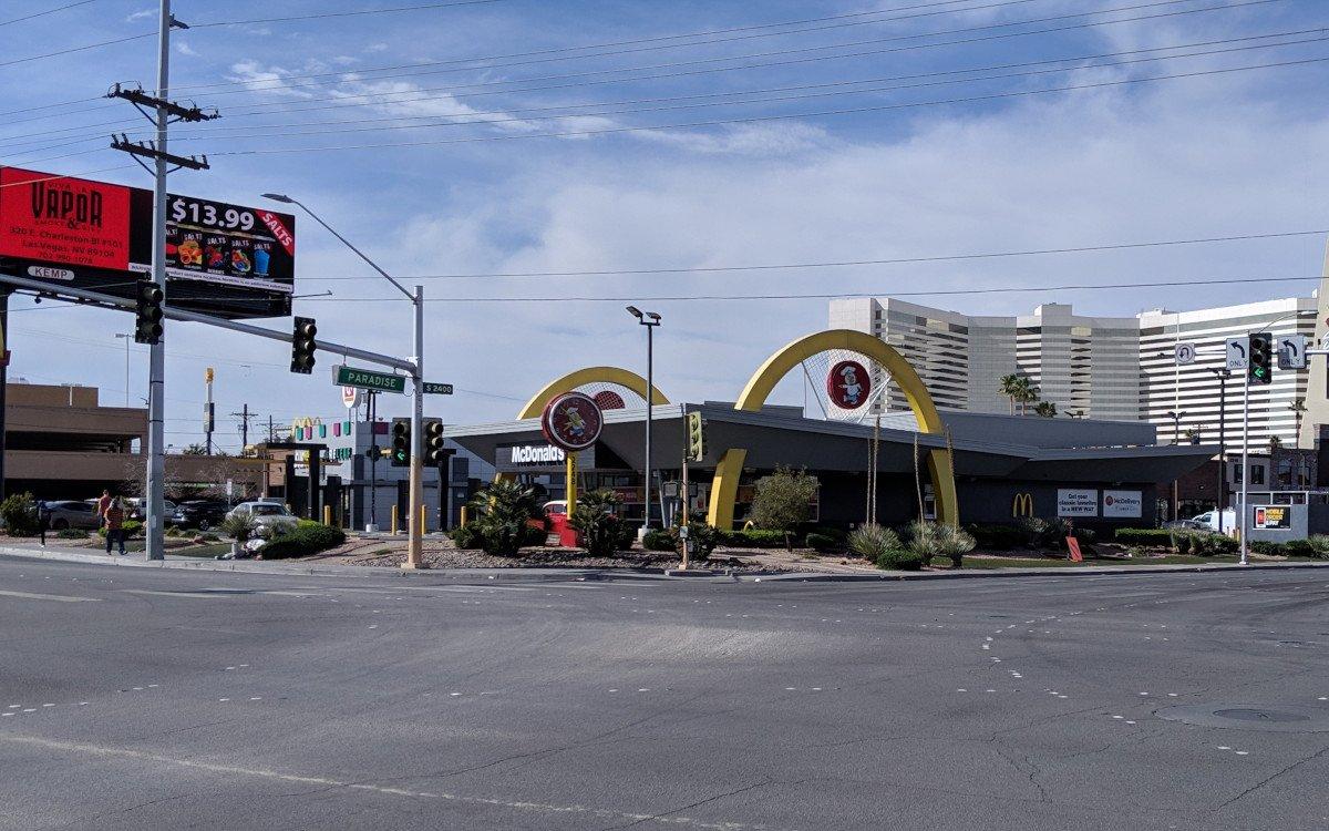 McDonalds in Las Vegas (Foto: invidis)