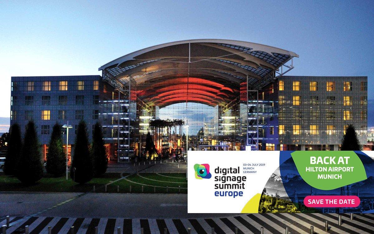 DSS Europe 2019 zurück am Airport München (Foto: Hilton, invidis)