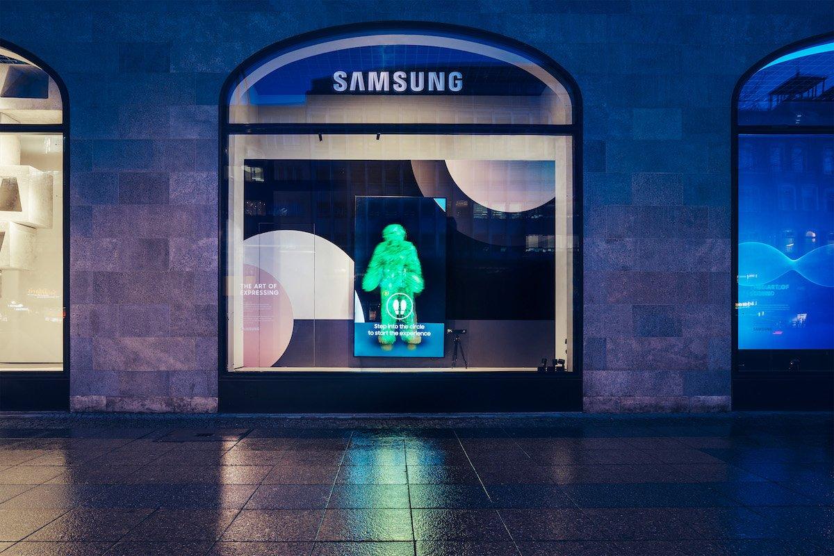 Alles im grünen Bereich... (Foto: Samsung)