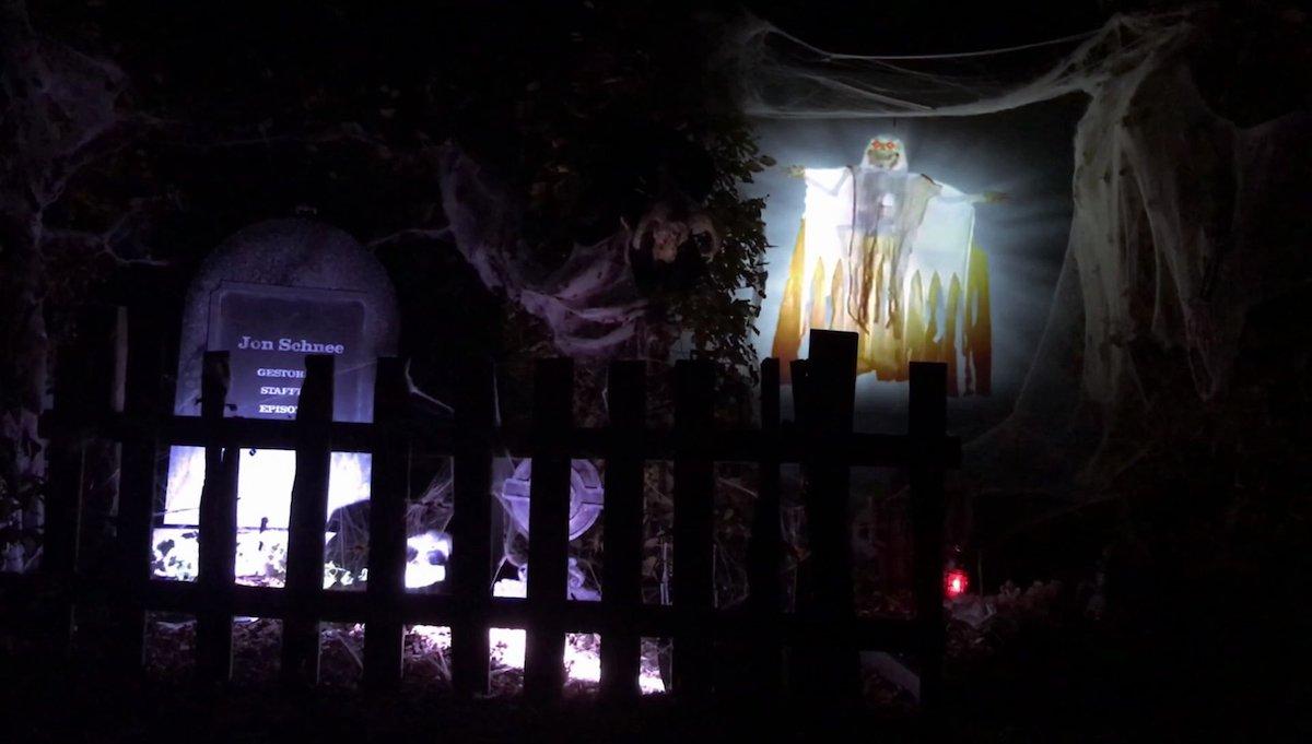 Auch 2019 werden Laserprojektoren an Halloween eingesetzt werden (Foto: Epson)