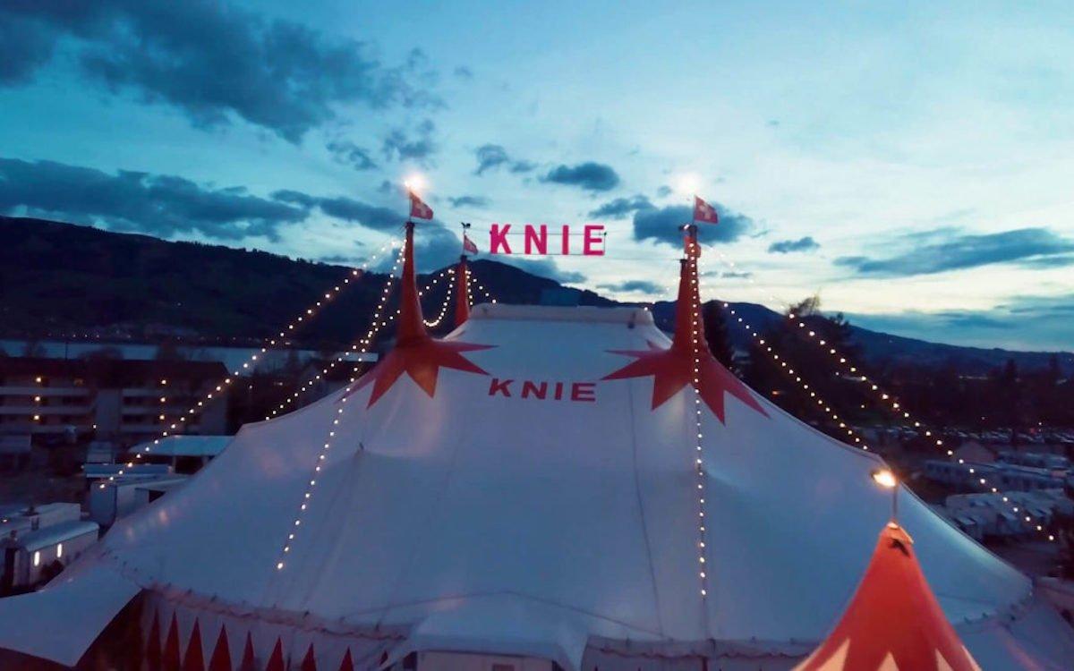 Auch der Circus Knie nutzt Digital Signage (Foto: Swiss Screen)