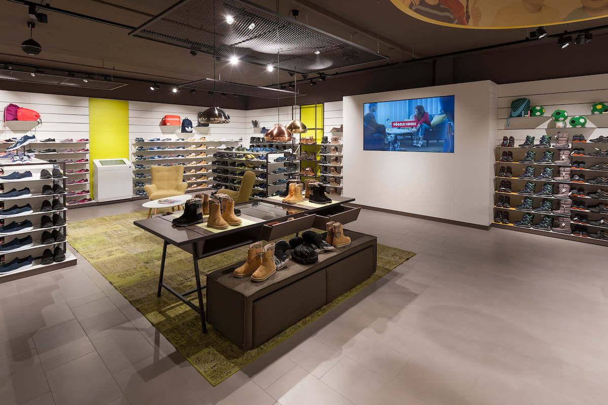 Blick in einen der 200 schweizweiten Stores (Foto: Carl Vögele AG)