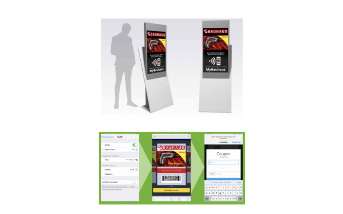 Die neue Stele ist für interaktive Anwendungen gedacht (Grafiken: IAdea Deutschland)