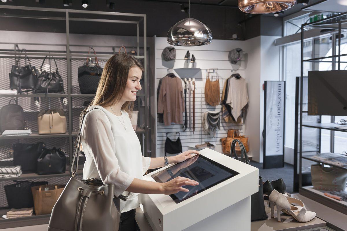 Digital Signage nutzt der Retailer ebenfalls in einigen Filialen (Foto: Carl Vögele AG)