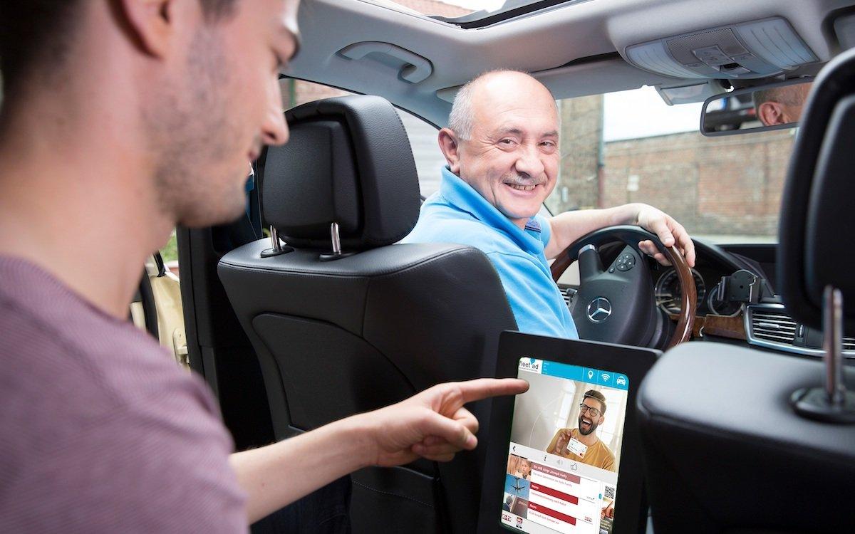 Erstmals nutzt Mastercard das Netzwerk von fleet ad für eine DooH-Kampagne (Foto: fleet ad)