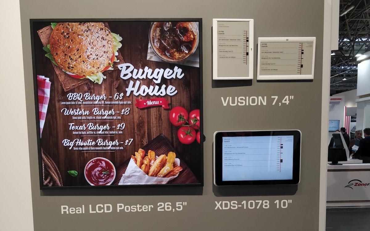 ESL, Tablets und andere Screens können mit der Lösung via Browser und Hub PC angesteuert werden (Foto: dimedis)