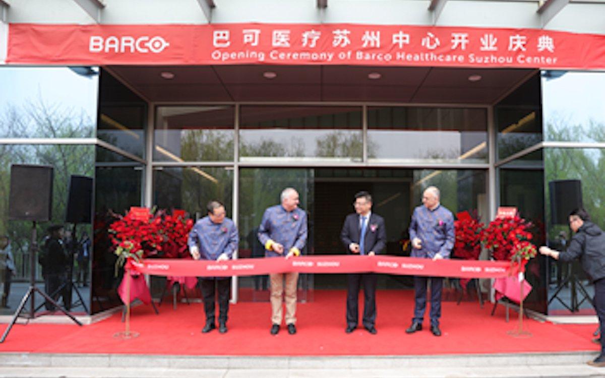 In Suzhou siedelt Barco ein R&D-Zentrum für AV-Lösungen für den Healthcare-Markt an (Foto: Barco)