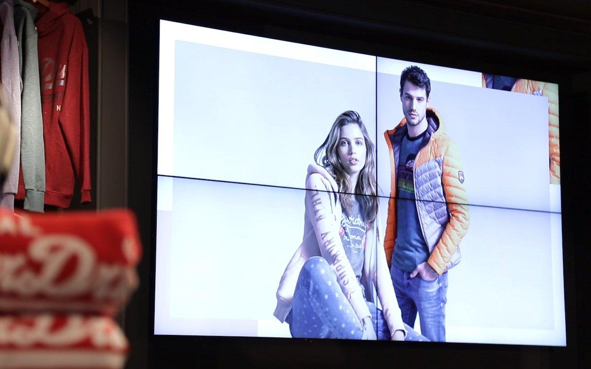 LCD Video Walls wurden ergänzend installiert (Foto: Samsung)