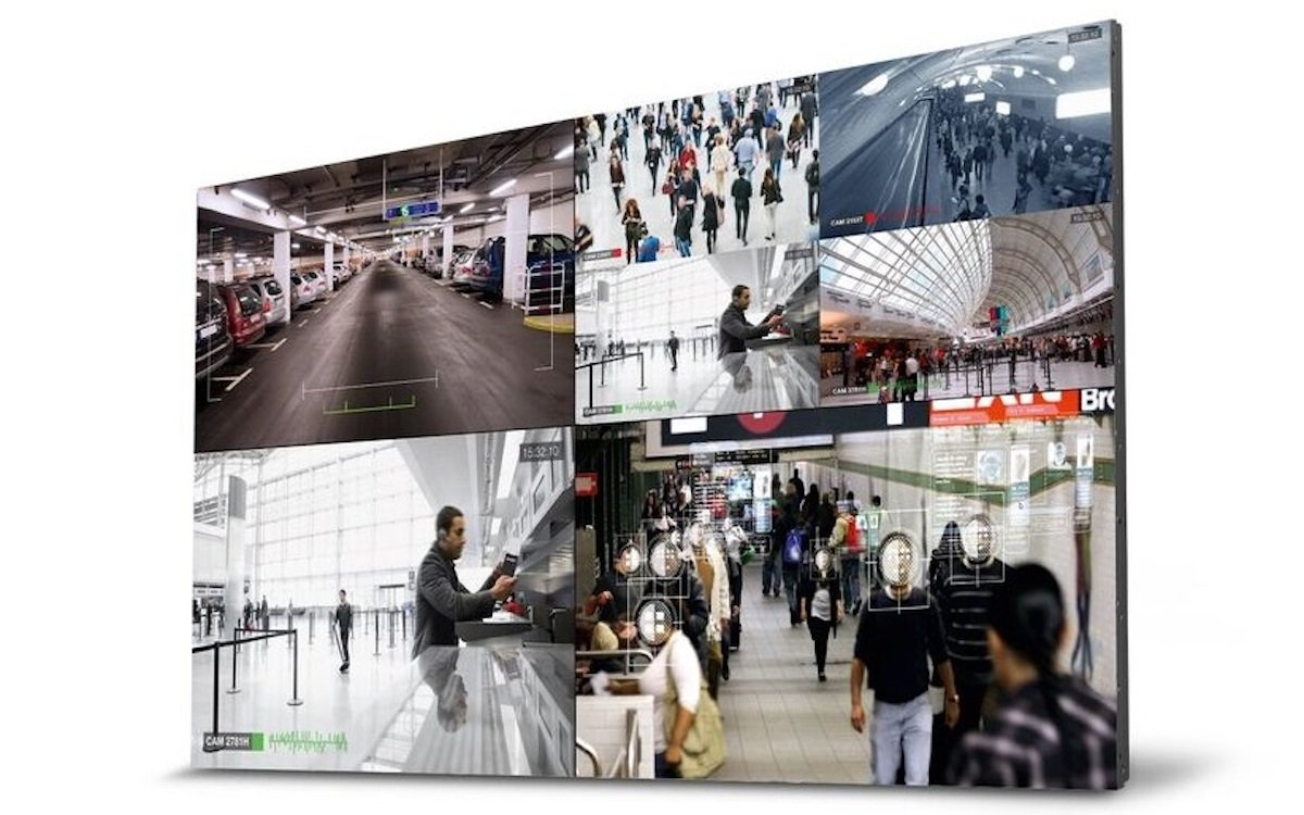 Mit neuen Narrow Bezel Screens für Video Walls geht Mitsubishi Electric in den Markt (Foto: Mitsubishi Electric)