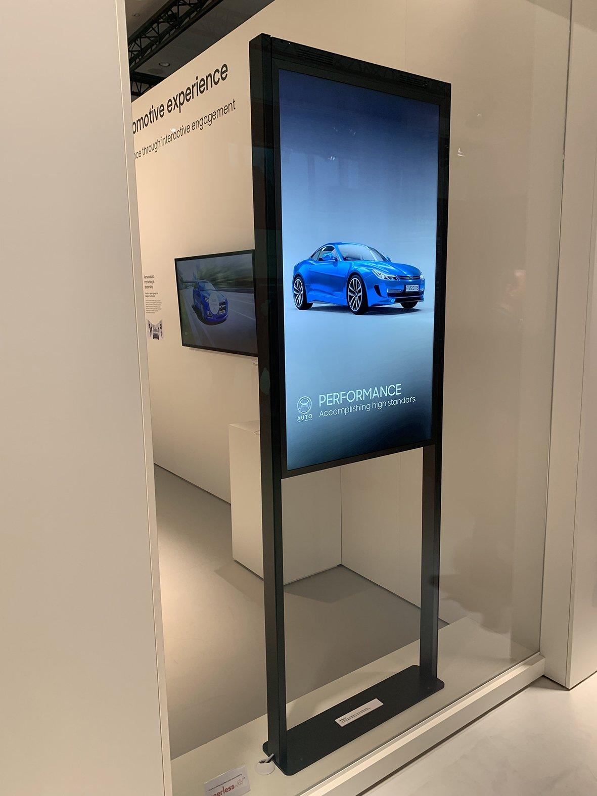 Peerless-AV-Halterung für Samsungs Serie OMN-D (Foto: Peerless-AV)