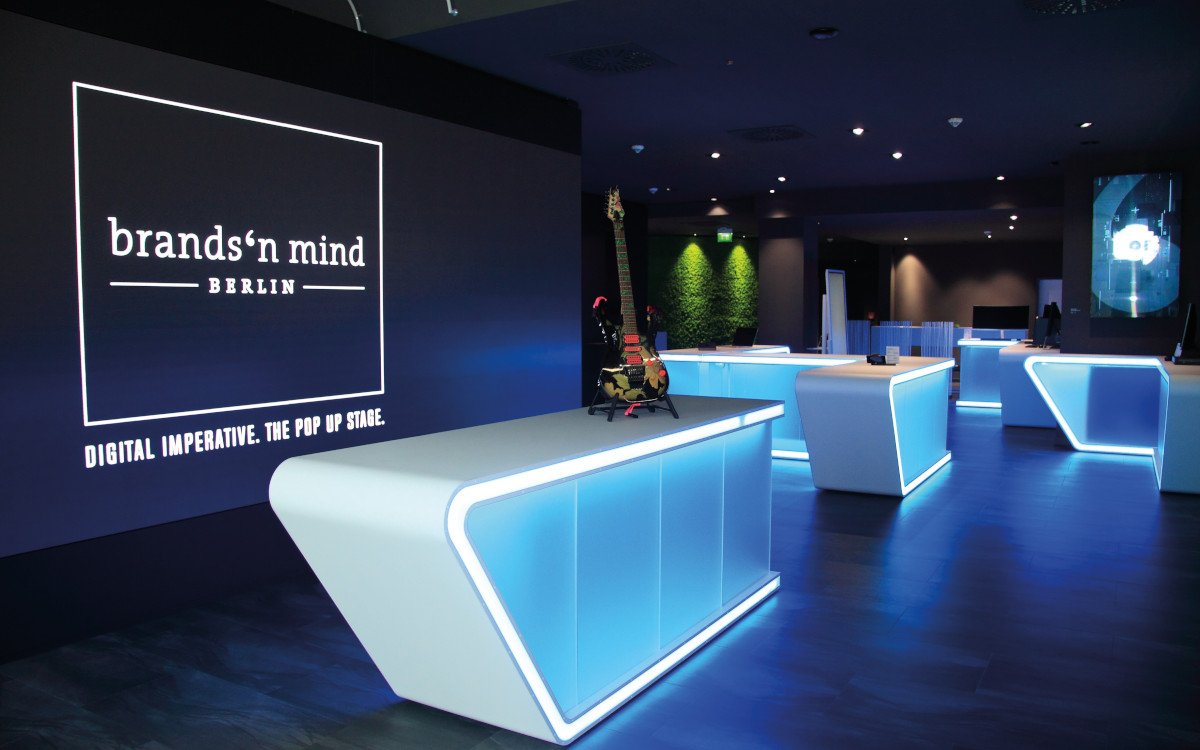 brands'n minds Popup Stage in Berlin (Foto: Mediativ)