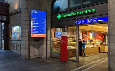 SBB Wayguiding in Basel (Foto: invidis)