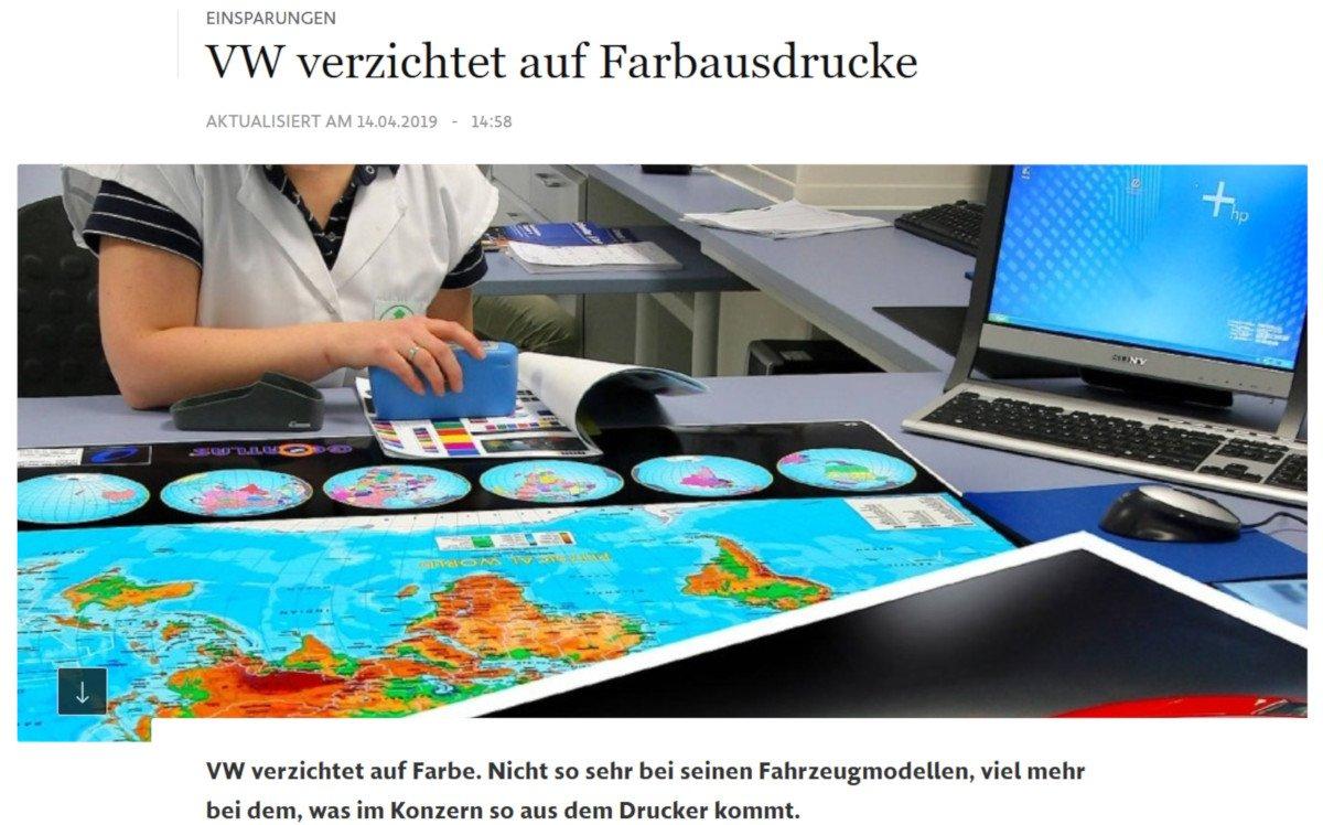 VW apart an Farbe (Foto: Screenshot Faz.net)