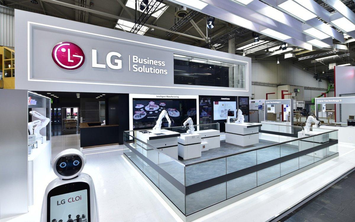 LG Messestand (Foto: LG)