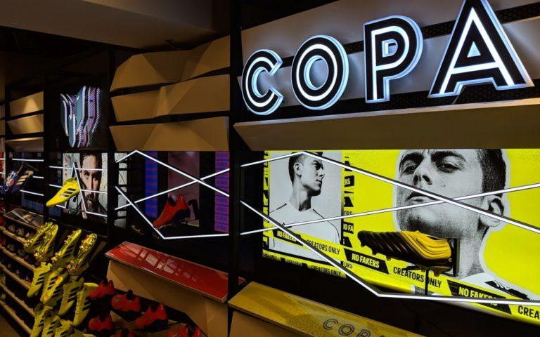 Display meets Shoe - Adidas Flagship Store in Istanbul (Foto: invidis)