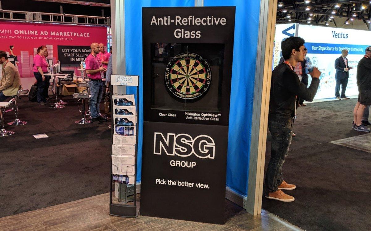 NSG Pilkington auf der DSE 2019 (Foto: invidis)