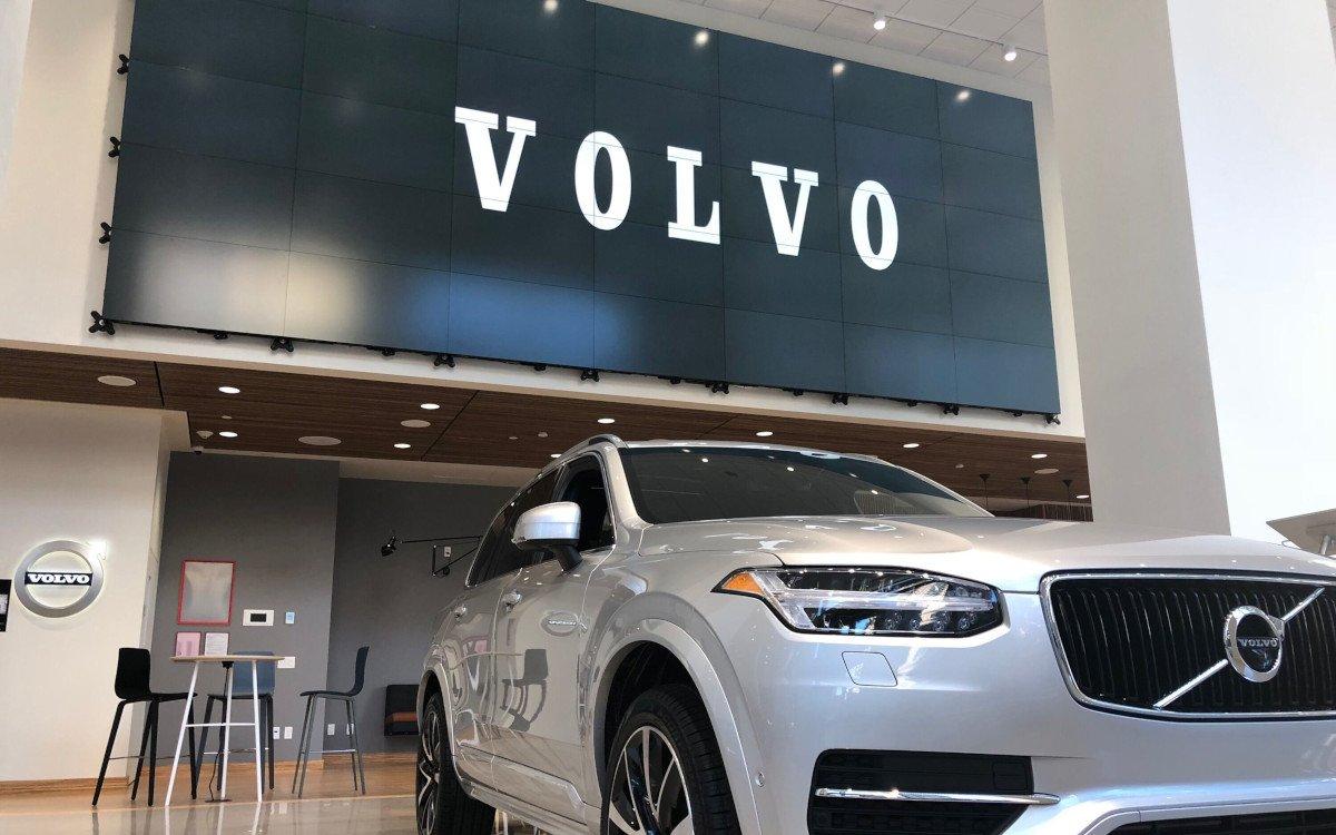 Volvo Shorwroom in New York City (Foto: Volvo)