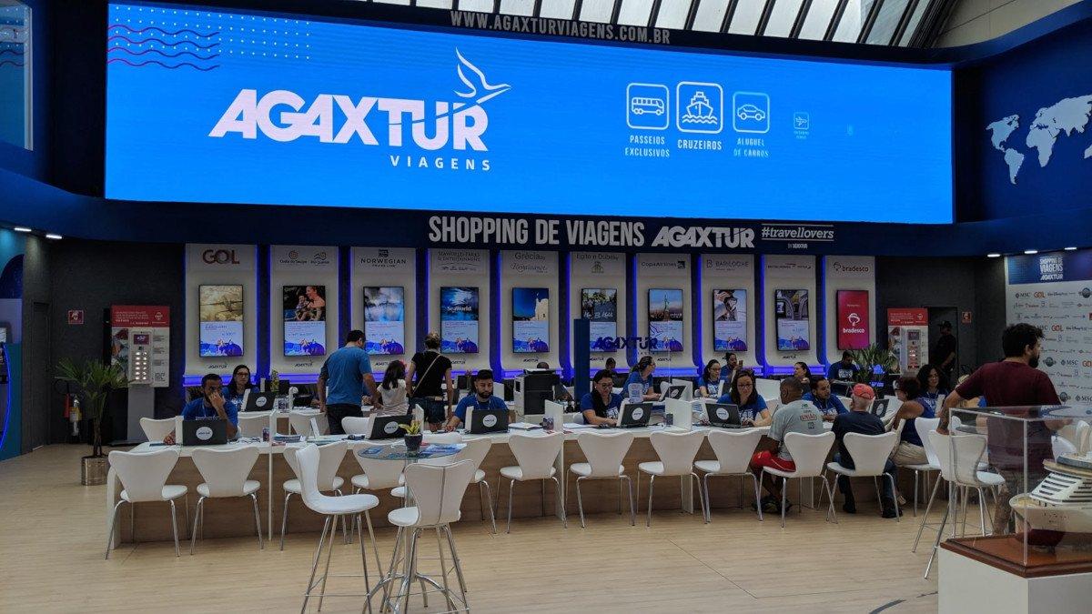 Agaxtur Reisekaufhaus in Shopping Eldorado Sao Paulo (Foto: invidis)