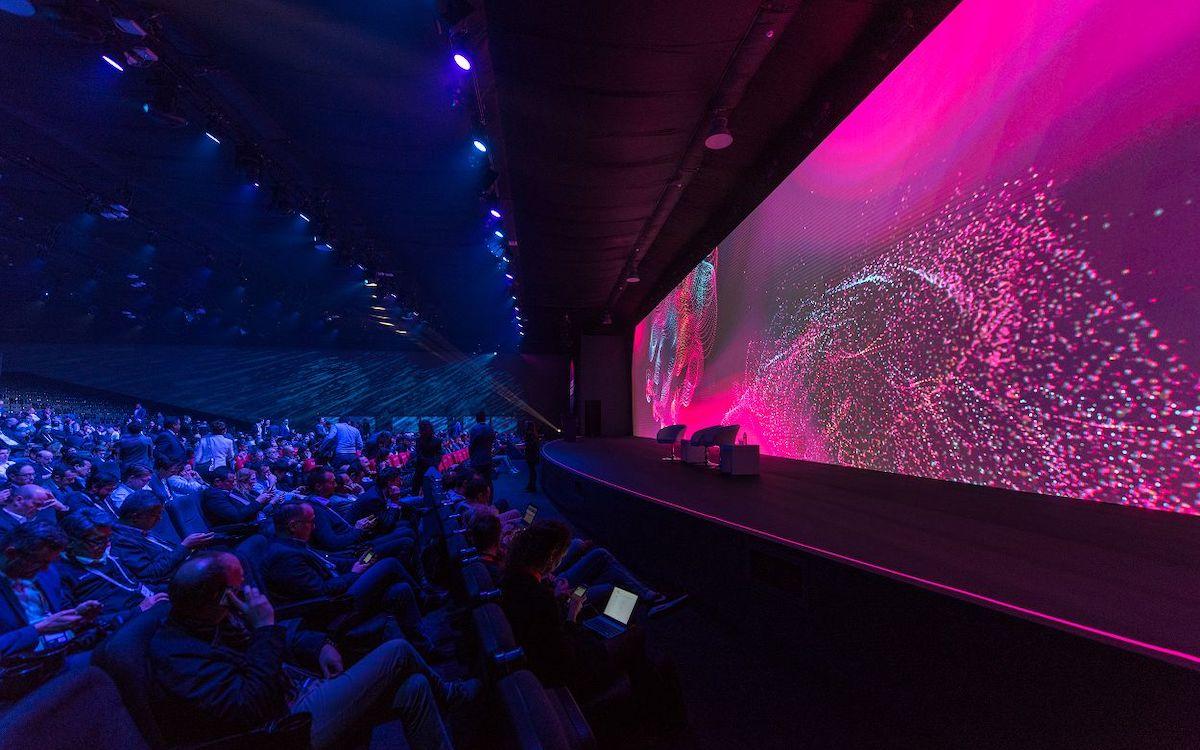 22 Millionen Pixel konnten auf dem LED Screen genutzt werden (Foto: Christie)