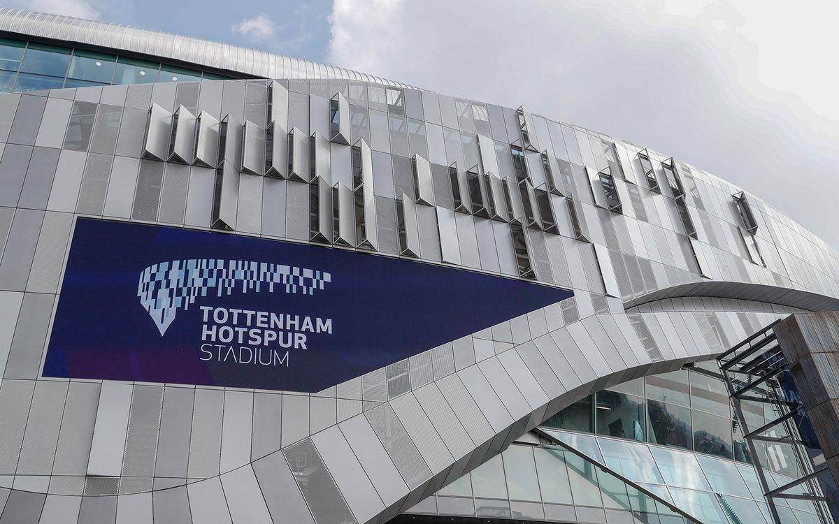 Beim ersten Spiel im neuen Stadion wurden die LED Screens erstmals vor großem Publikum eingesetzt (Foto: Daktronics)