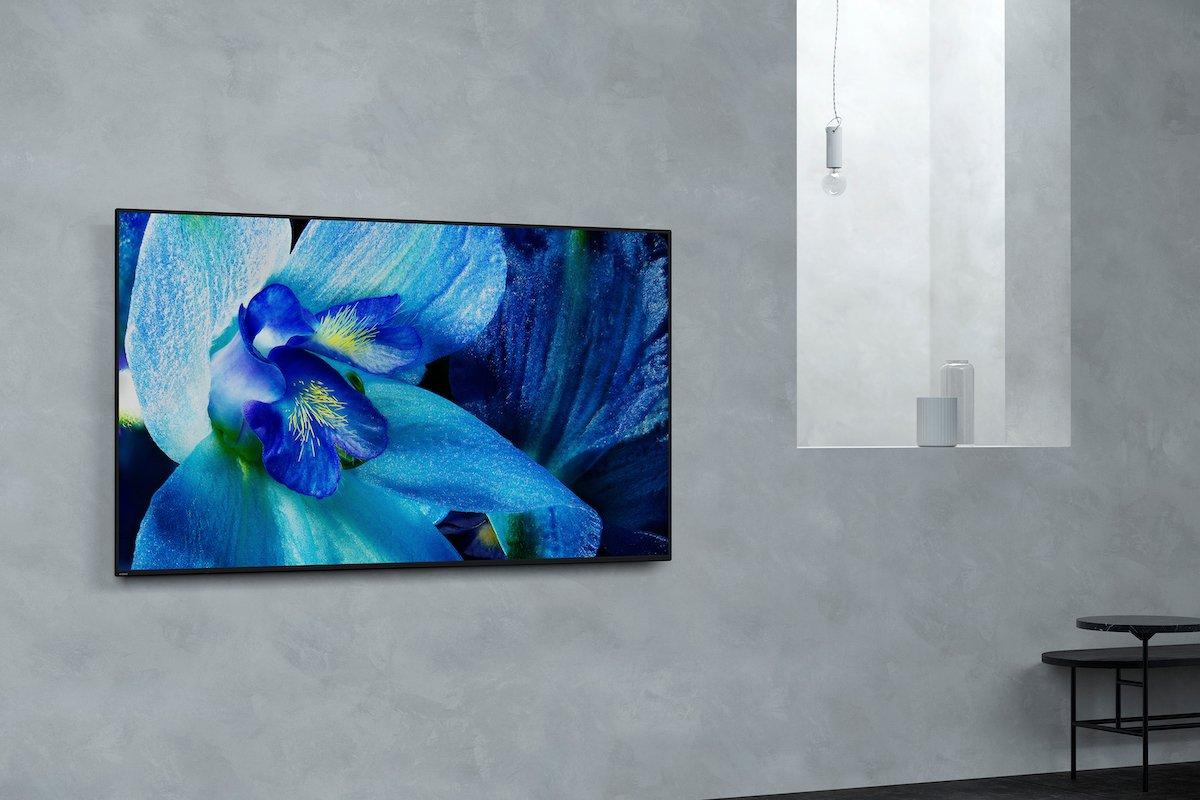 Der AG8 ist der kleinere der beiden OLED Screens im Programm (Foto: Sony)