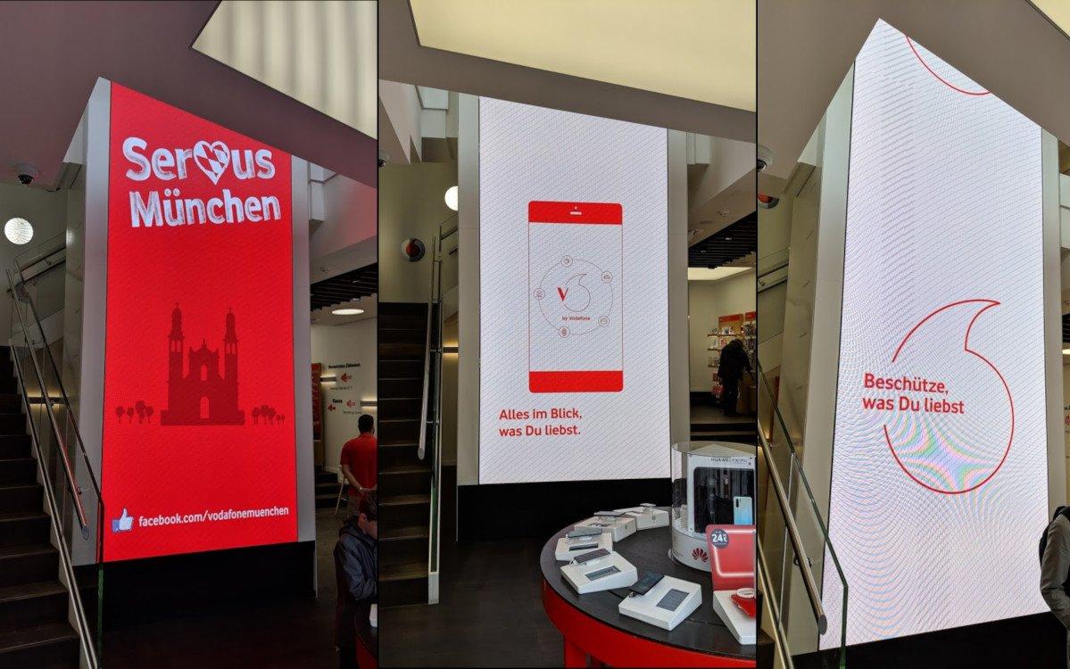 Vodafone Flagship am Marienplatz in München (Foto: invidis)