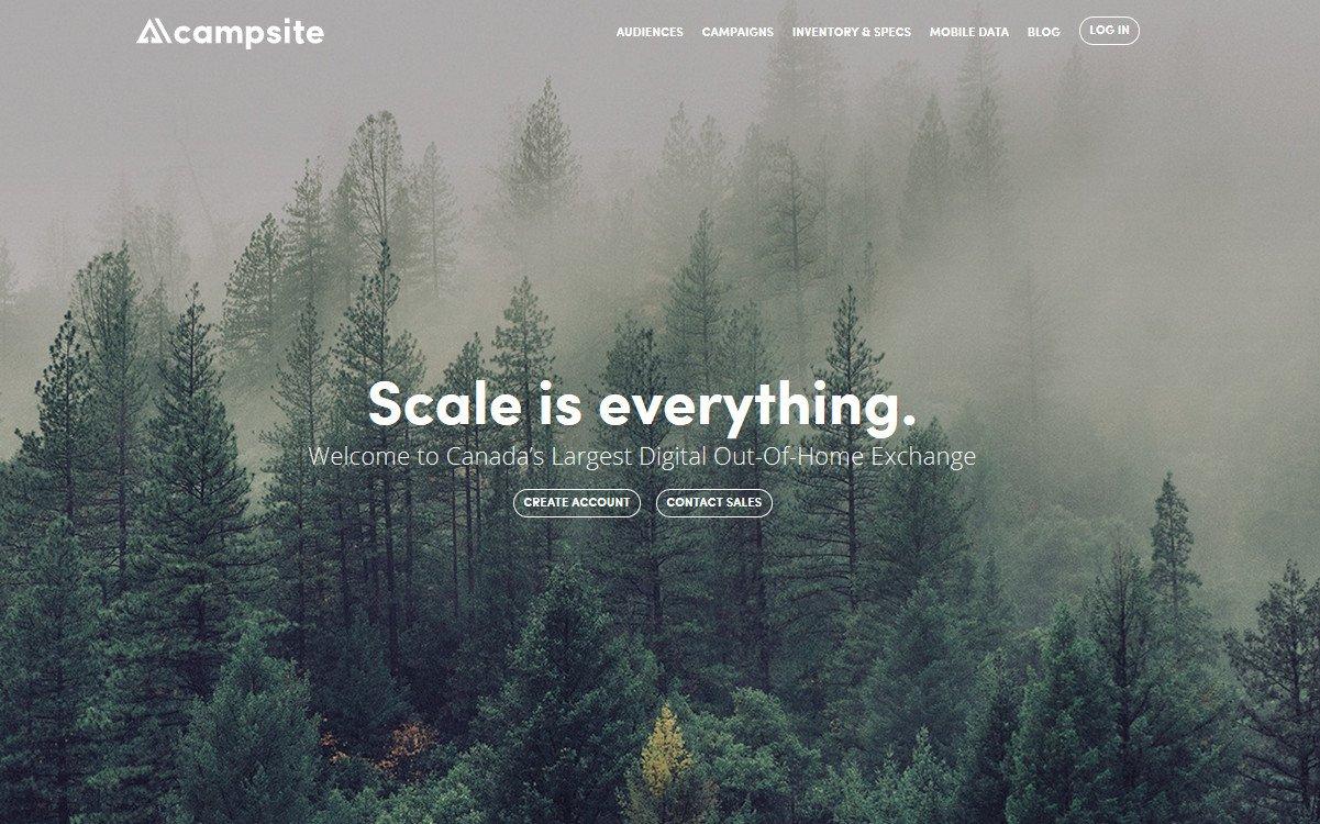 Campsite DooH-Exchange (Foto: Screenshot)