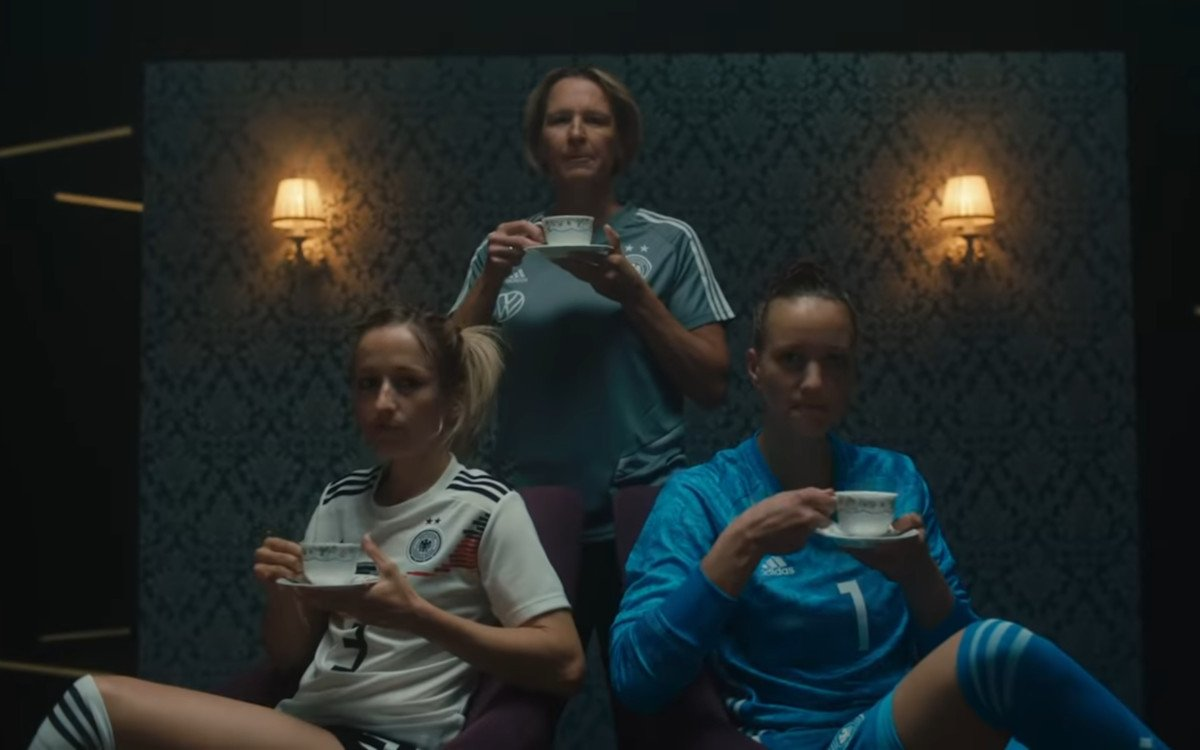DFB Frauennationalmannschaft zur WM 2019 (Foto: Screenshot)