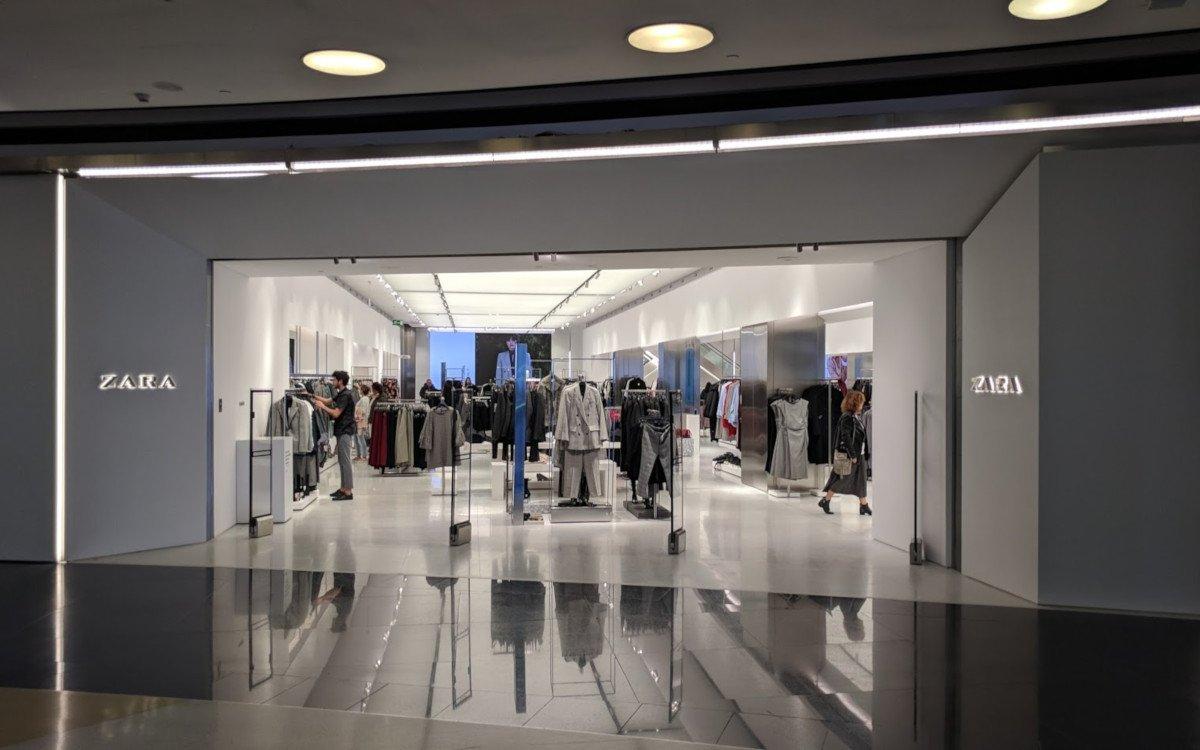 Zara Store in La Coruna (Foto: invidis)