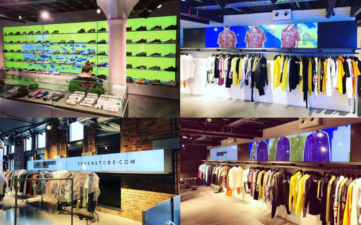 Sevenstore Fashion Concept Store in Liverpool (Foto. Sevenstore/Skratch)