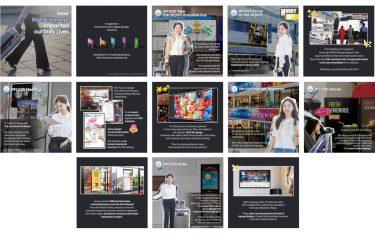 Digital Signage im Alltag (Fotos: Samsung)