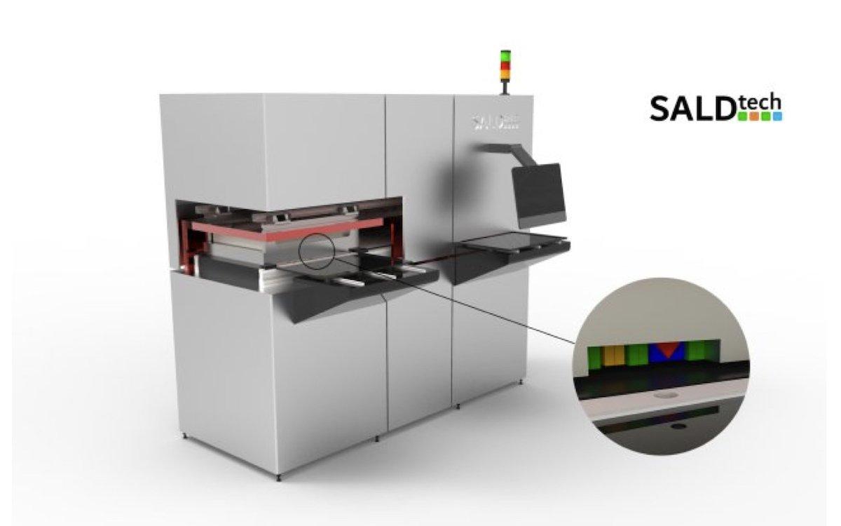 Das Unternehmen aus Eindhoven will die Massenproduktion von OLEDs auf eine neue Stufe heben (Foto / Grafik: SALDtech)