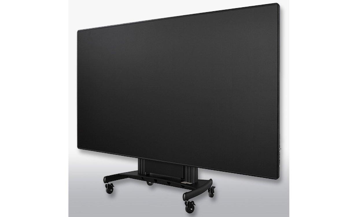 """Der 130""""l AiO-LED-Screen wird vorkonfiguriert ausgeliefert (Foto: m.i.b GmbH)"""
