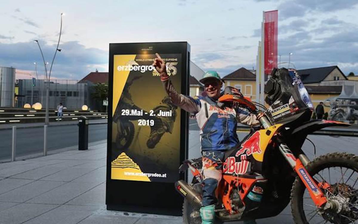 Der Erzbergrodeo 2019 umwirbt Motorsportfans digital (Foto: Epamedia)
