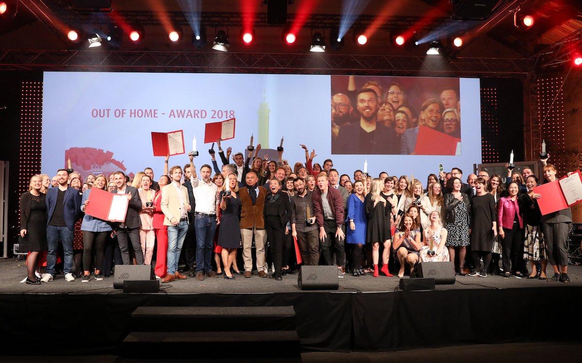 Die Sieger des aktuellen Awards (Foto: Gewista / Katharina Schiffl)